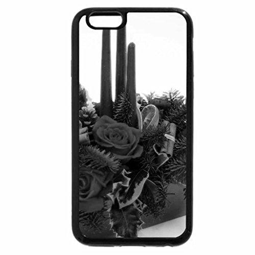 iPhone 6S Plus Case, iPhone 6 Plus Case (Black & White) - Amazing Christmas