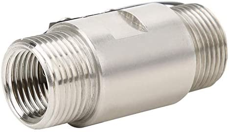 FS03 70W 2 punten 12 NPT dubbele schroefdraad 048 VDC waterdoorstromingsmeter 05 A waterdoorstroomschakelaar van roestvrij staal vloeibare olie