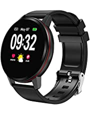 Decdeal Fitness Tracker Smart Watch Waterproof Activity Tracker with Heart Rate Monitor Sleep Monitors Blood Pressure Sport Smart Watch
