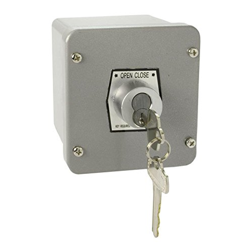 (MMTC 1KX-BC Nema 4 Exterior Tamperproof Open-Close Best Cylinder Or Equivalent Key Switch Surface Mount)