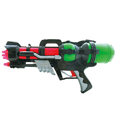 Mozlly Galactic Star Super Water Gun, 17 Inch Pump Blaster Bath Shooter Squirter Swimming Pool Beach Summer Party Pistol Soaker Props Costume Toy Outer Space Themed Children Kids Toys & -