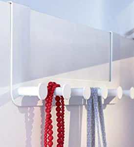 IKEA Colgador Blanco para puerta - Ganchos colgante sobre la puerta