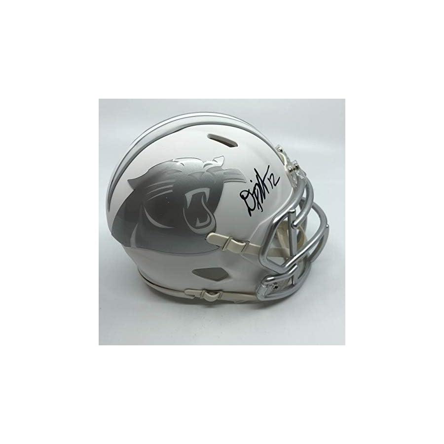 DJ Moore Signed Carolina Panthers Speed Ice Mini Helmet
