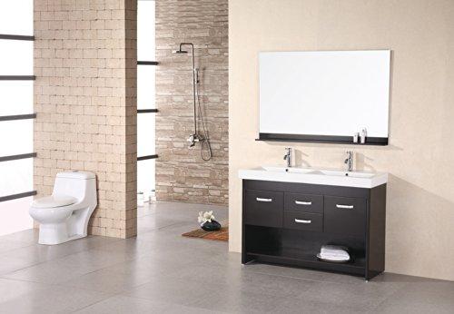 Design Element - DEC074 - Citrus 48'' Double Vanity Espresso by Design Element (Image #1)