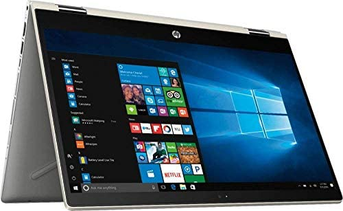 HP Pavilion x360 14″ FHD WLED Touchscreen 2-in-1 Convertible Laptop, Intel Quad-Core i5-8250U 1.60GHz up to 3.4GHz, 8GB DDR4, 256GB SSD, WiFi, Bluetooth, Webcam, HDMI, Fingerprint Reader, Windows 10