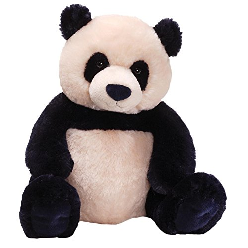 GUND Zi-Bo Panda Teddy Bear Stuffed Animal Plush, 17