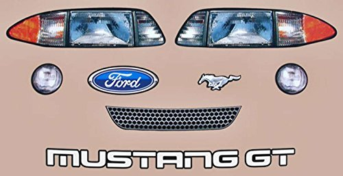 Five Star Stock Car Bodies 915-410-ID MUSTANG NOSE GRAPHIC