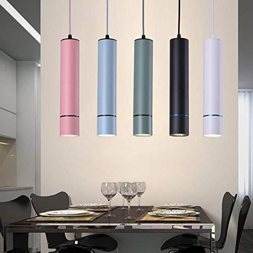vert,7010c Natural lumière 4200K Lampe à suspension LED Couleurée 15 W Modern Bar Vintage Restaurant Chambre à coucher à suspendre Lampes d'intérieur Lampe à suspension AC100-240V Luminaire Natural lumière 4200K vert,