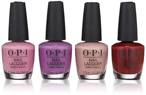 - OPI Peru 4 Piece Collection, Nail Lacquer Mini, 0.5 fl. oz.