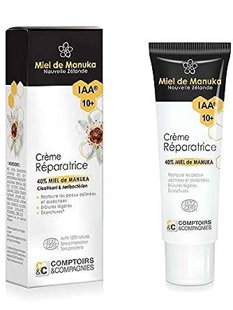 Comptoirs Et Compagnies Iaa10 Crème Réparatrice Bio 40 Miel De