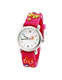 Students Watches For Girl Little Girls Watches Lovely Watches Gift For Girls - Pink Butterfly