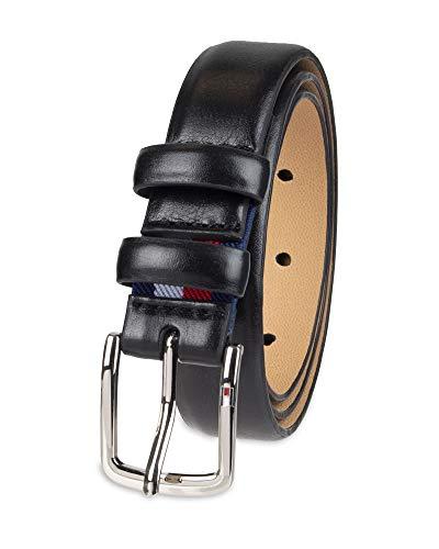 [해외]Tommy Hilfiger Boys` Big Dress Stretch Belt / Tommy Hilfiger Boys` Big Dress Stretch Belt, black double Loop, Small (22-24)