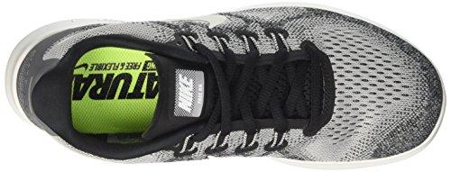 Nike Free Rn 2017 Mens 880839-002 Lupo Grigio Bianco 002