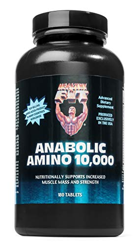 Healthy n Fit Anabolic Amino 10000 180t, Bottle