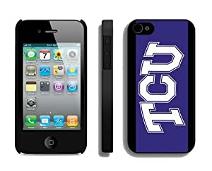 Popular Phone Protector Best Cases for Iphone 4s Designer Iphone 4 Cover Cell Phone Accessories TCU Horned Frogs 3