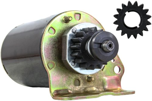NEW STARTER MOTOR FITS GENERAC GENERATOR SET V-TWIN ENGINE 16 TOOTH WITH FREE GEAR