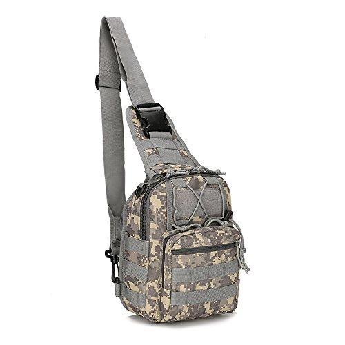 al para hombre Lona AO Bolso Desert de Digital Gris KA LI hombro Camouflage gris ptqgZ