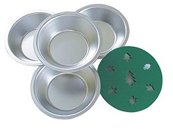 R & M 2735 Mini molde de sartenes con decorativo decoración, árbol, juego de
