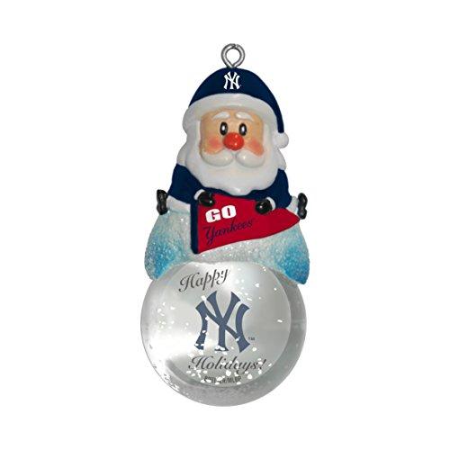- MLB New York Yankees Snow Globe Ornament
