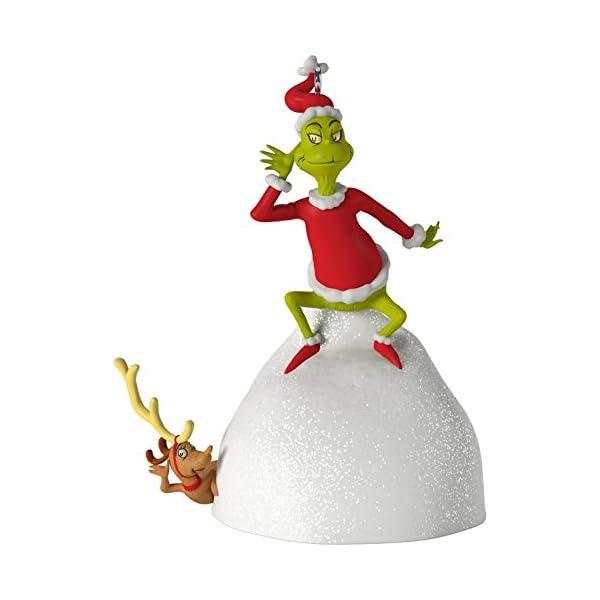 Welcome Christmas Grinch.Hallmark Keepsake 2017 Dr Seuss S How The Grinch Stole Christmas Welcome Christmas Musical Christmas Ornament