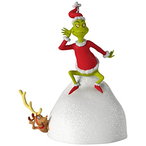 Dr. Seuss's How the Grinch Stole Christmas! Welcome Christmas Musical Ornament Movies & TV by Hallmark