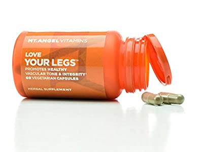 Love Your Legs with Butcher's Broom Root and Horse Chestnut Extracts Supports Healthy Circulation - 60 count