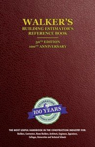 Walker's Building Estimator' Reference Book, 30th Edition