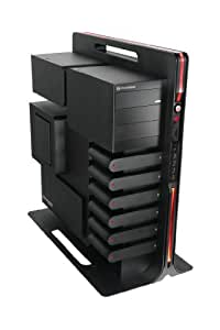 Thermaltake Level 10 Aluminum ATX Super Full Tower Gaming Station Computer Case VL30001N1Z (Black)