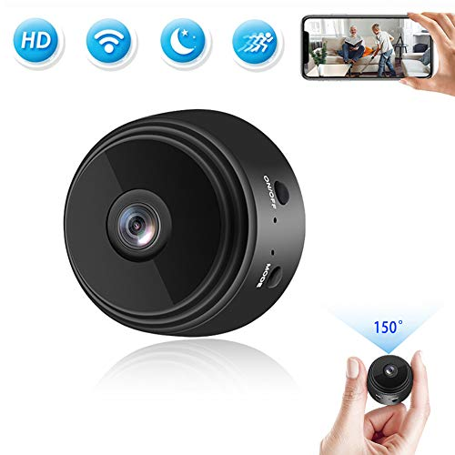 🥇 Mini Camera WiFi Small Wireless Full HD 1080P Video Camera with 32G SD Card