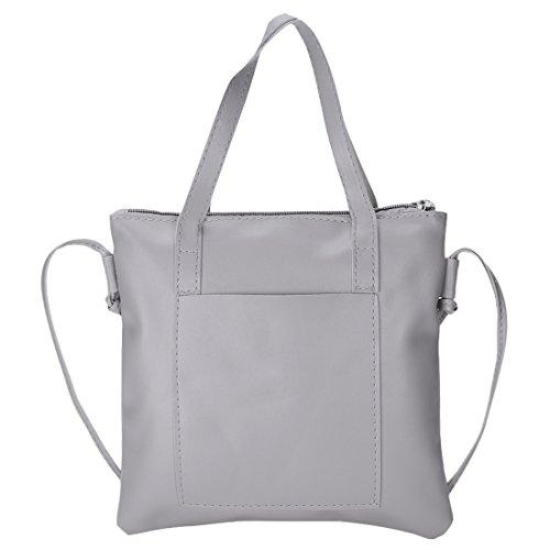 YYW shoulder bag - Bolso mochila  para mujer gris