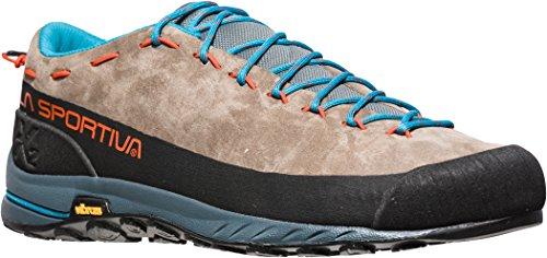 La Sportiva Tx2 Leather, Stivali da Escursionismo Uomo Multicolore (Marrone / Mandarino (Falcon Brown / Tangerine 000))