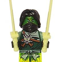 LEGO® Ninjago™ Morro Ghost Minifig with Dual Swords
