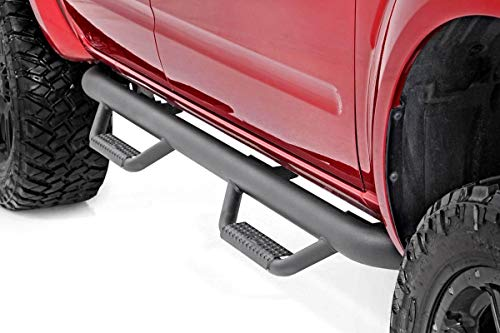 Rough Country 82001 - Cab Length Nerf Steps for 05-18 Nissan Frontier Crew Cab