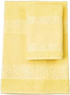 Red – Juego de toallas de mano con invitados, 100% rizo de algodón ...