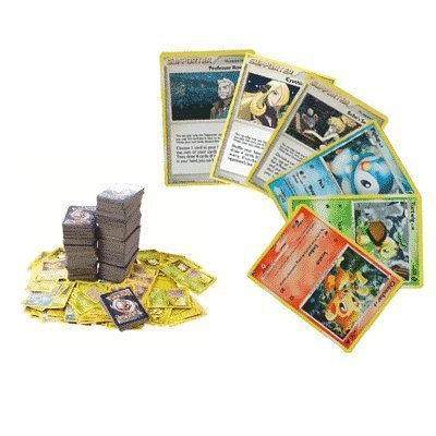 100 Assorted Pokemon Trading Cards. Photo - Pokemon Gaming