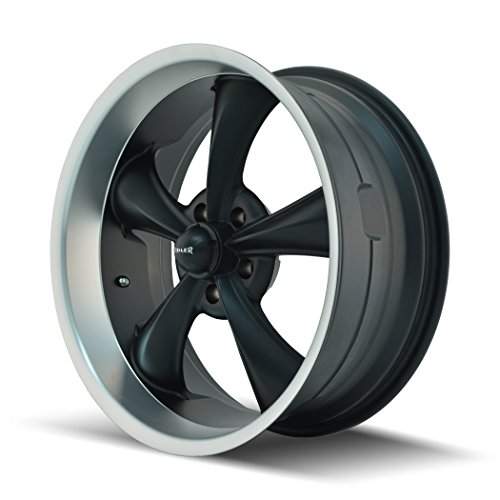 Ridler Style 695 695 Matte Black Wheel with Machined for sale  Delivered anywhere in USA