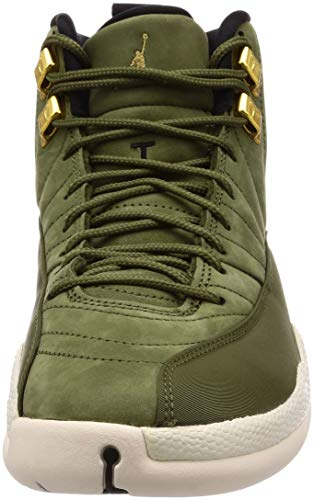 Men s Sail Olive Canvas 12 NIKE Gold Metallic Jordan Green Retro Black Air Gymnastics 301 Shoes RqTTd5