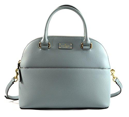 Kate Spade Grove Street Carli Leather Crossbody Bag Purse Satchel Shoulder Bag (LakesEdge)