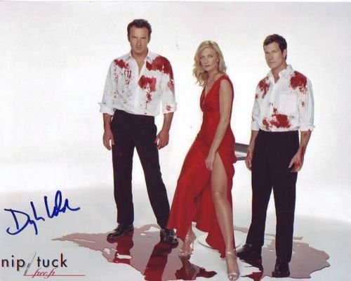 DYLAN WALSH signed autographed NIP/TUCK CAST photo ()