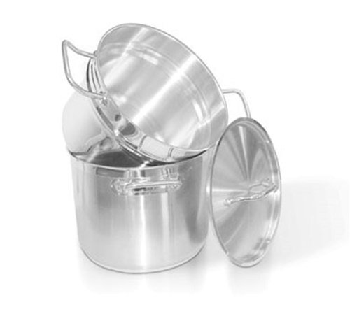 Homichef 6 Quart Stainless Double Boiler with Lid