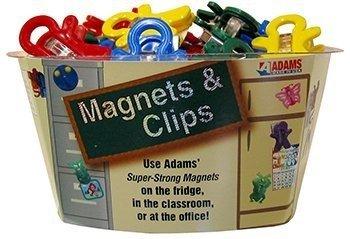Adams 3303-50-3848 Magnet Man Clip, Assorted Colors