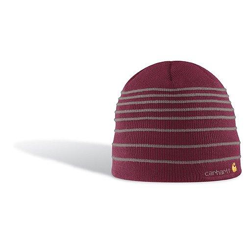 - Carhartt Women's Puffy Stripe Hat,Purple,One Size