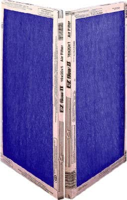 22x22x1 10055.012222 Percisionaire Ez Flow Ii Front Panel Merv 4 Pack12