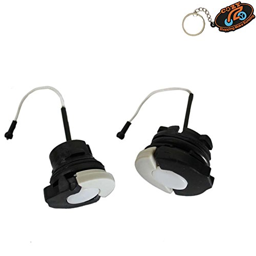 New Gas Tank Fuel Cap + Oil Cap for Stihl Chainsaw Ms210 Ms230 Ms250 Ms360 Part# 000 0350 0525 and Part# 0000 350 0526