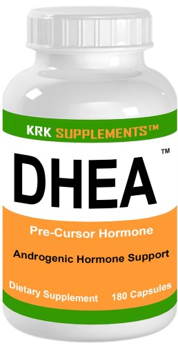 DHEA 100mg 180 Capsules SUPPLEMENTS Dehydroepiandrosterone masse KRK