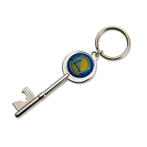 - NBA Golden State Warriors Skeleton Key Bottle Opener Key Ring