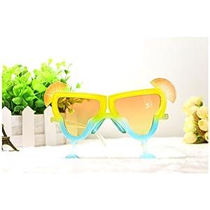 Hawaii Creative lemonade glass shaped beach party eyeglasses