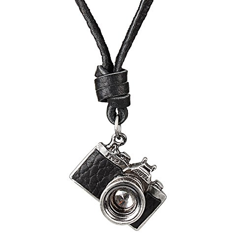 Stylish And Exquisite Retro Style DIY Personality Antique Camera Pendant Necklace For Women / Men / Unisex
