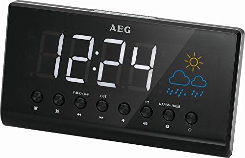 Proyector de reloj radio despertador radio despertador estación ...