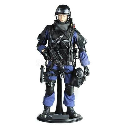 """12"""" 1/6 Military Army Combat SWAT Soldier Attacker Action Figure w Accessory"""